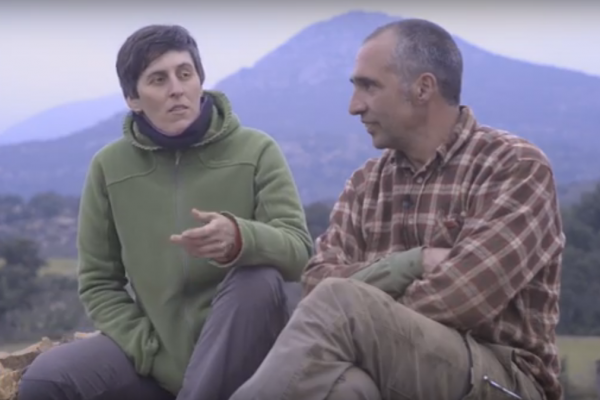 Joan Carles Torres y Bàrbara Magugliani