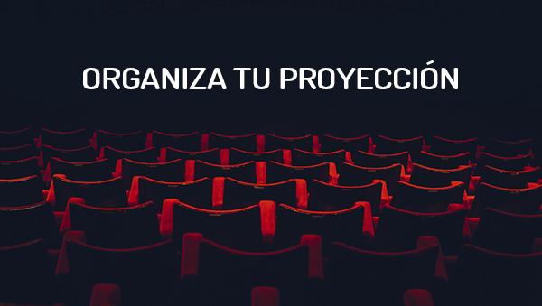 Organiza tu proyección
